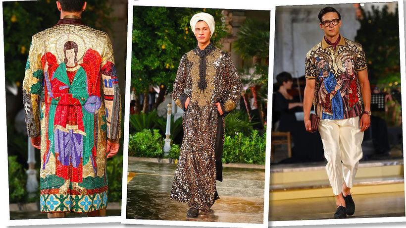 Pokaz kolekcji Alta Sartoria Dolce & Gabbana