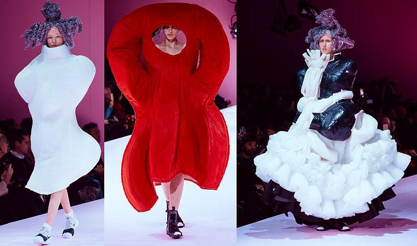 Pokaz kolekcji Comme des Garçons na jesień/zimę 2017