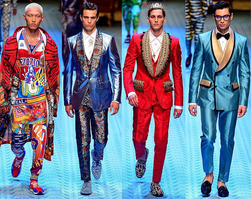 pokaz kolekcji Dolce & Gabbana na wiosnę i lato 2019