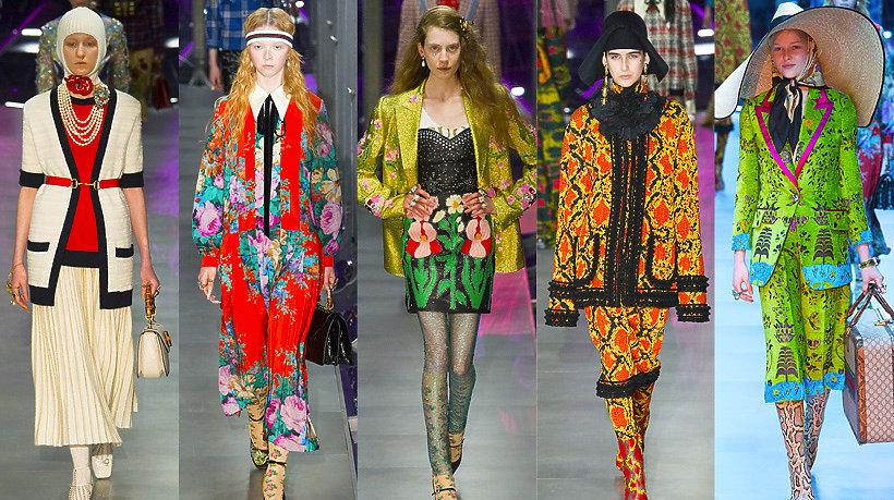 Pokaz kolekcji domu mody Gucci na jesień/zimę 2017
