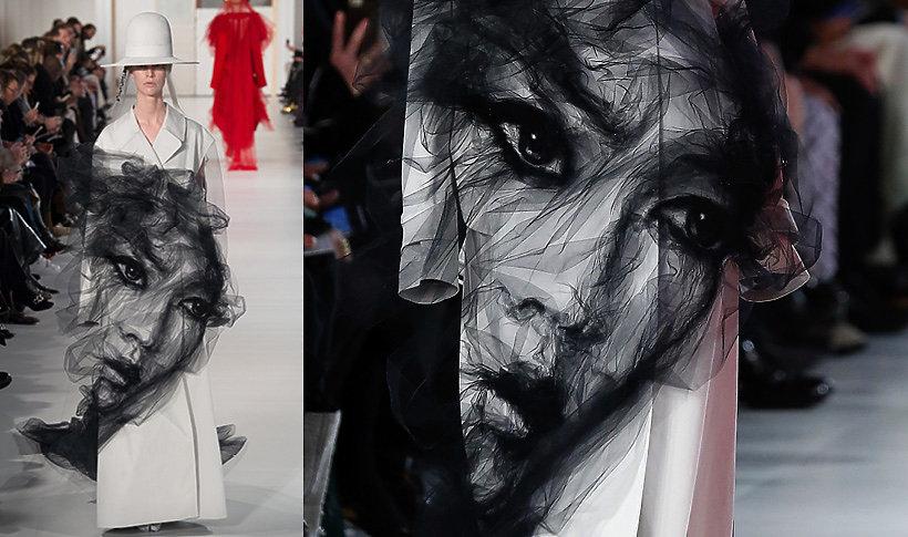 pokaz kolekcji Maison Margiela haute couture na wiosnę 2017