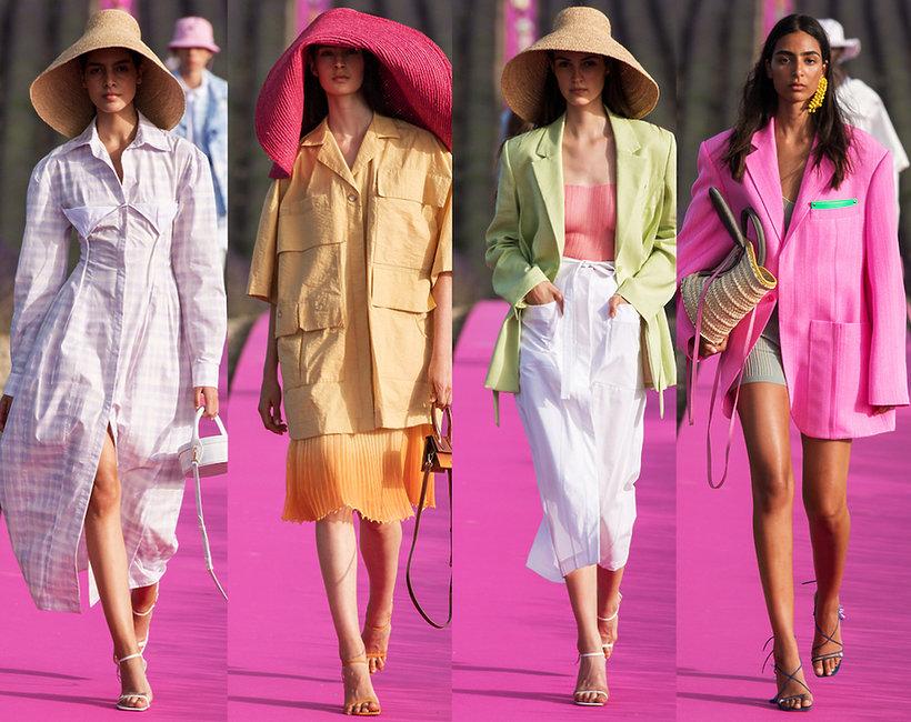 Pokaz męskiej damskiej kolekcji Jacquemuse na wiosnę 2020