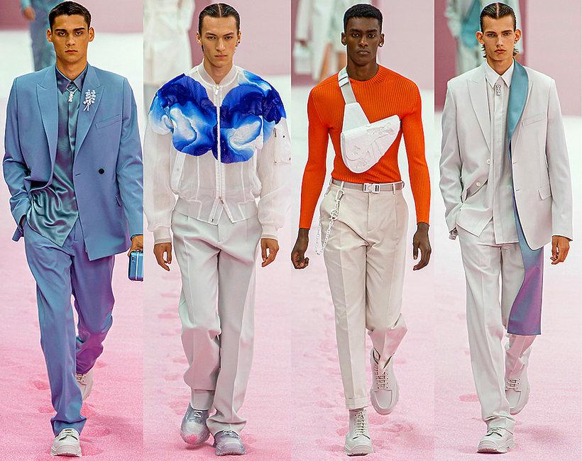 Pokaz męskiej kolekcji Diora na wiosnę 2020