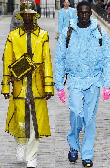 pokaz męskiej kolekcji Louis Vuitton na wiosnę 2020