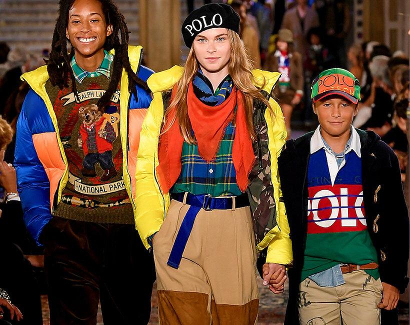 pokaz z okazji 50. urodzin domu mody Ralph Lauren