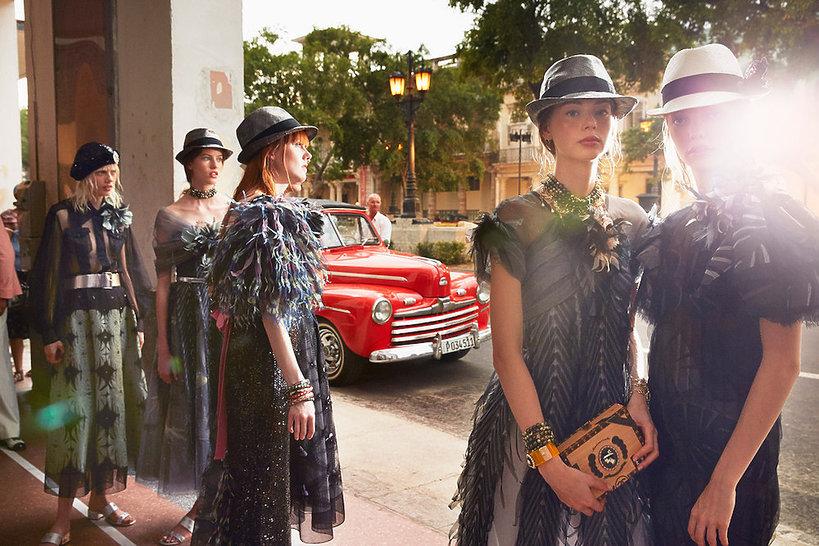 Pokazu Chanel Resort 2017 w Hawanie