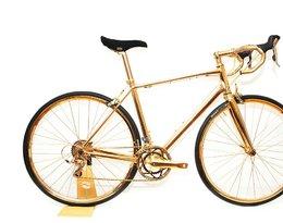 Pokryty 24. karatowym złotem rower Goldgenie