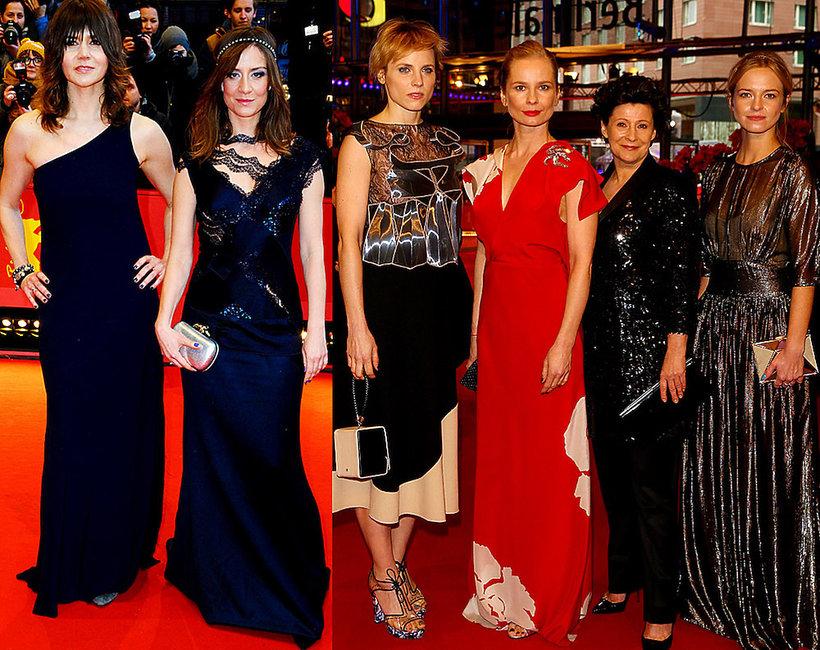 Polki na czerwonym dywanie na Festiwalu Filmowym w Berlinie