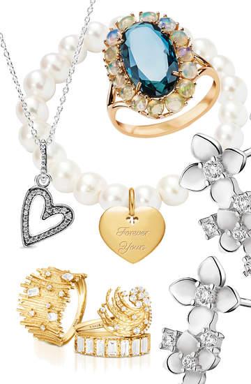 Prezenty na dzień kobiet 2020 modna biżuteria