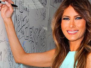Projektanci o współpracy z Melanią Trump
