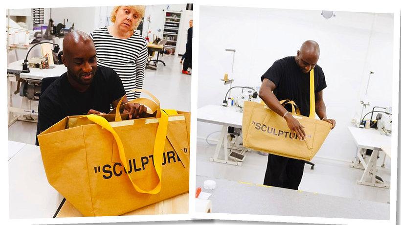 Projektanta marki off-white, Virgila Abloha zaprojektował torbę Ikea