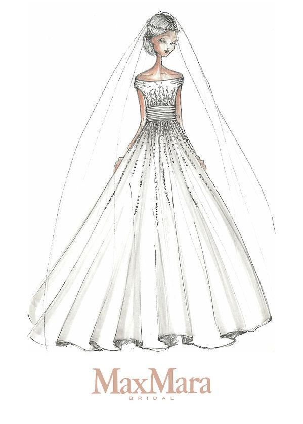 5aa487cab1 Projekty sukni ślubnej Meghan Markle