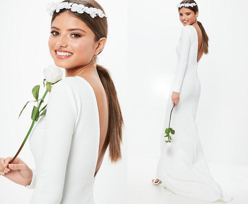 Replika sukni ślubnej Meghan Markle