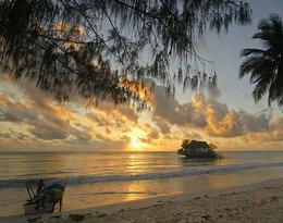 Restauracja The Rock na wyspie Zanzibar