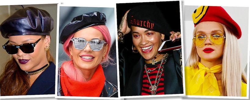 Rihanna, Doda, Rita Ora, Margaret w berecie