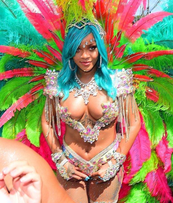 Rihanna na festiwalu na Barbadosie