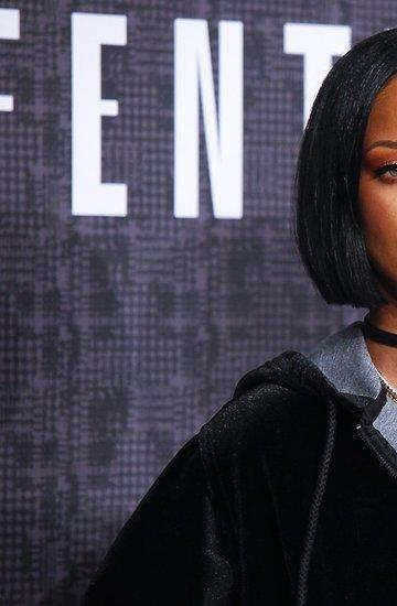 Rihanna na pokazie Fenty X Puma