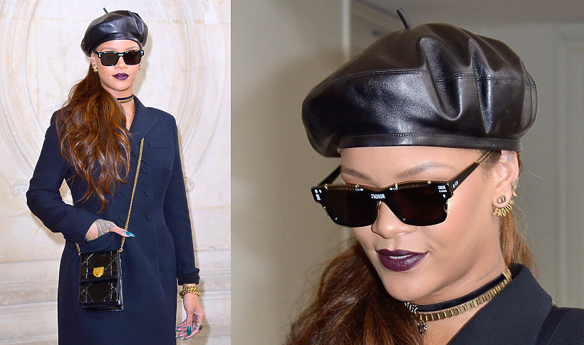 Rihanna w berecie