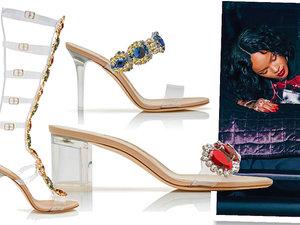 Rihanna zaprojektowała nową kolekcję butów dla Manolo Blahnika zatytułowaną So Stoned