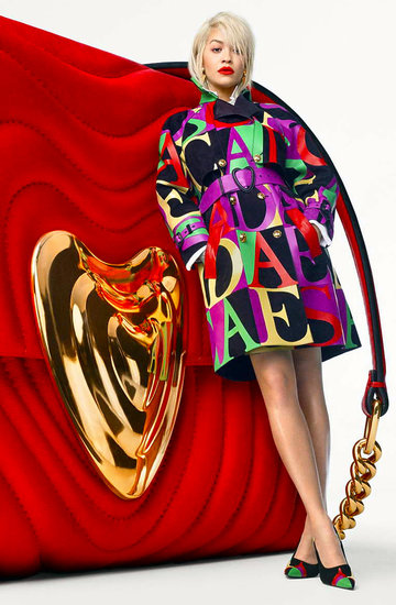 Rita Ora w kampanii marki Escada na wiosnę 2019