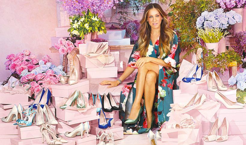 Sarah Jessica Parker zaprojektowała sneakersy