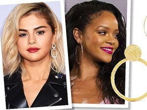 Selena Gomez, Rihanna w najmodniejszych kolczykach sezonu