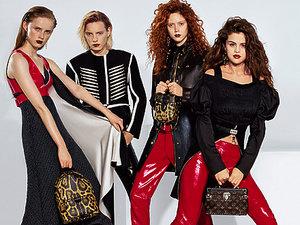 Selena Gomez w kampanii domu mody Louis Vuitton na jesień - zimę 2016