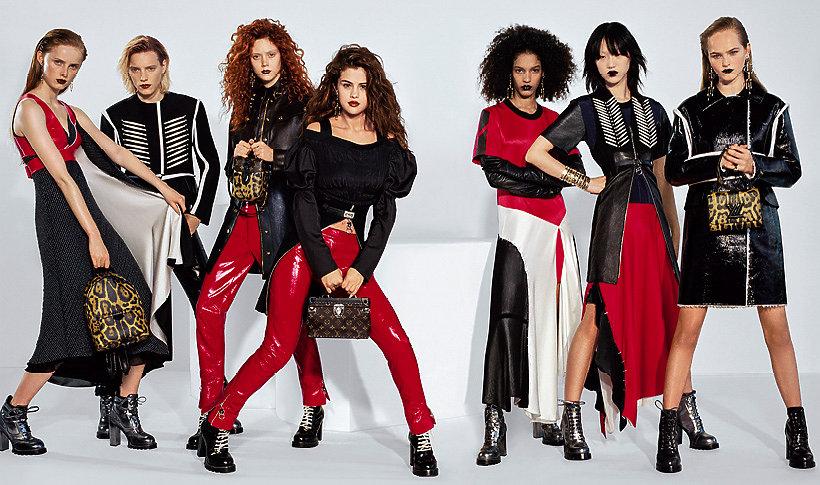 247866622946c Selena Gomez w kampanii domu mody Louis Vuitton na jesień - zimę 2016