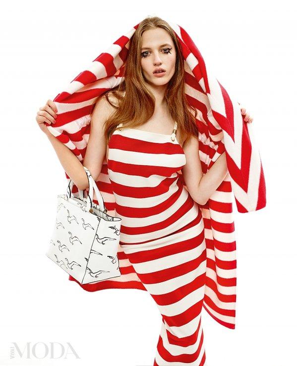 Sesja mody o trendach na wiosnę w magazynie VIVA! MODA