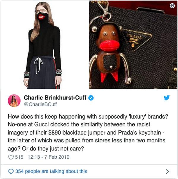 Skandal w świecie mody. Sweter marki Gucci uznano za rasistowski