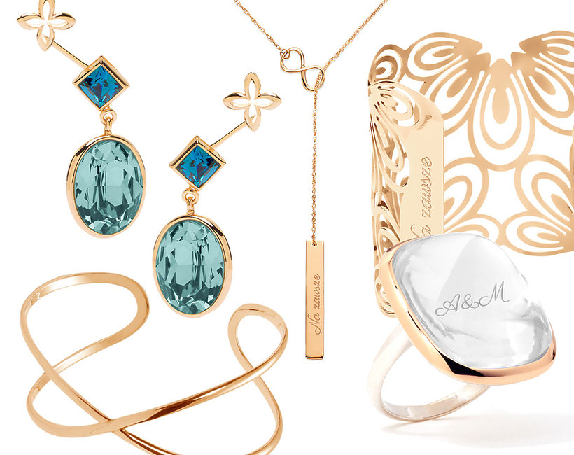 Ślubna kolekcja biżuteria  polskiej marki Lilou