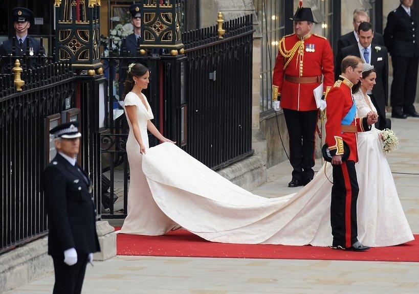 Ślubna suknia księżnej Kate