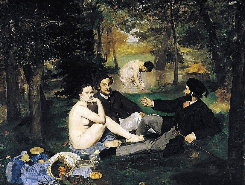 Śniadanie na trawie, Edouard Manet, 1863 rok