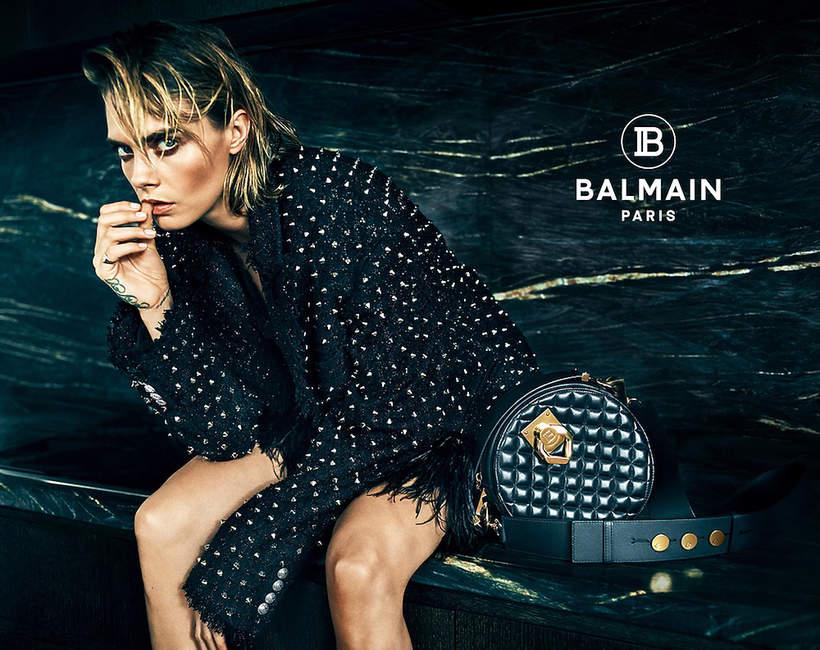 Sonia Szóstak autorką  kampanii marki Balmain na jesień 2019