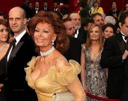 Sophia Loren najgorsze stylizacje kreacje w historii