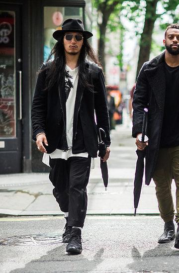 Street style Londyn tydzień mody, pokazy na wiosnę - lato 2017