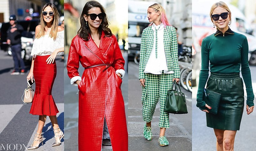 Street style, shopping