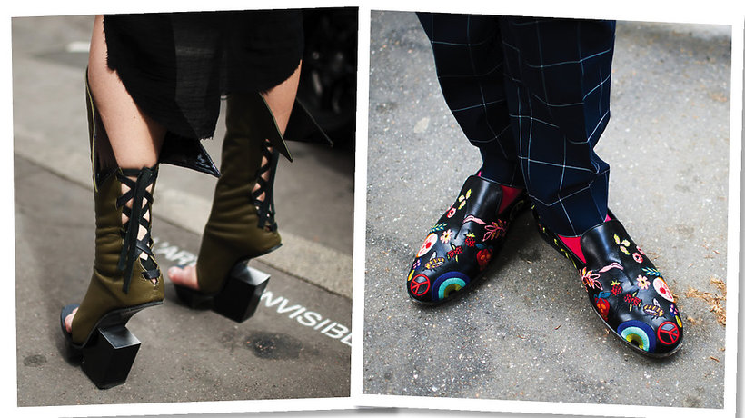 street style z męskiego Tygodnia Mody w Paryżu