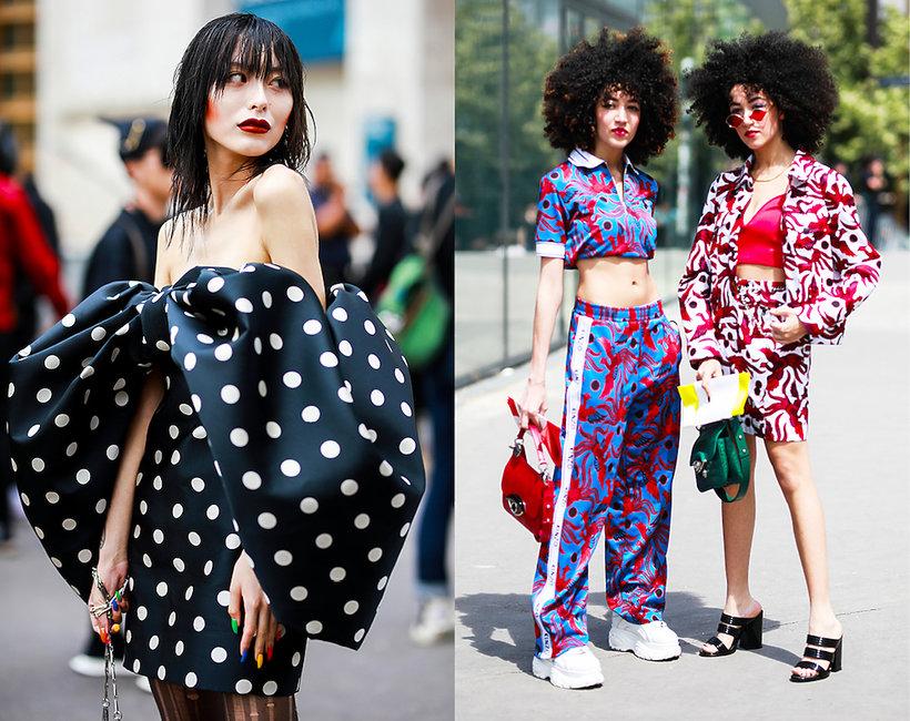 Street Style z Tygodnia Mody w Paryżu 2019