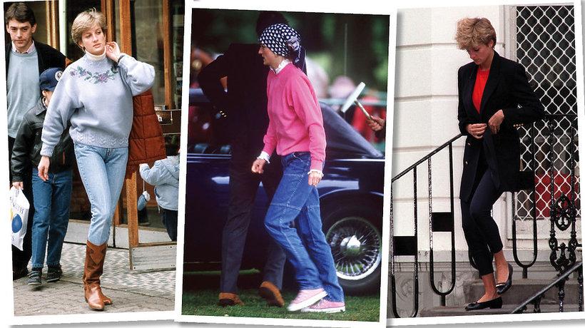 Styl Księżna Diana