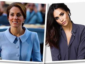 styl księżnej Diany, księżnej Kate, Meghan Markle