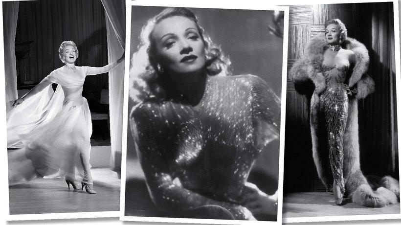 Styl Marlene Dietrich