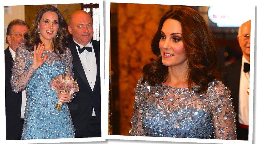 Stylizacja Księżna Kate na czerwonym dywanie