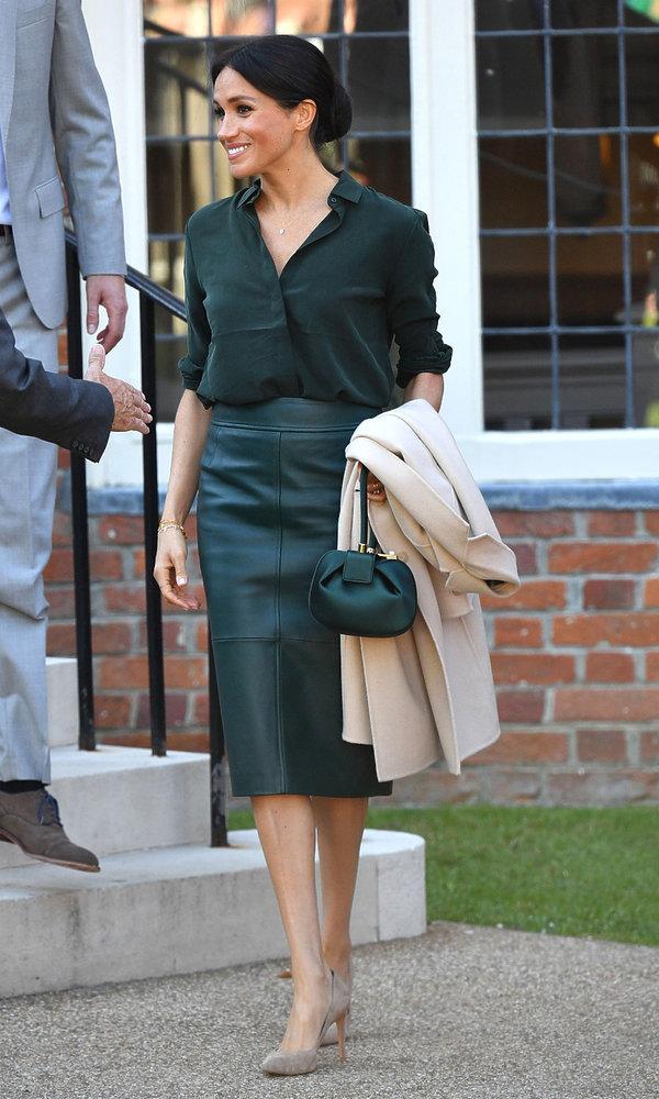 Stylizacja księżna Meghan odwiedziła po raz pierwszy hrabstwo Sussex