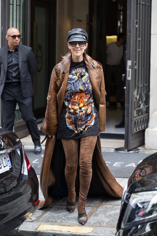 Stylizacje Celine Dion