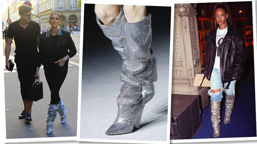 Stylizacje Celine Dion, Rihanna
