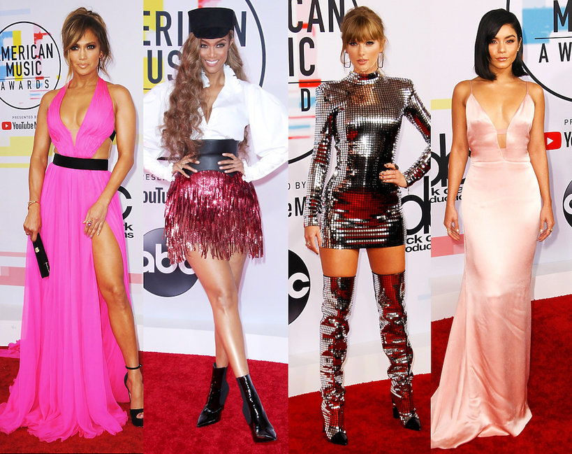 Stylizacje gwiazd na American Music Awards 2018