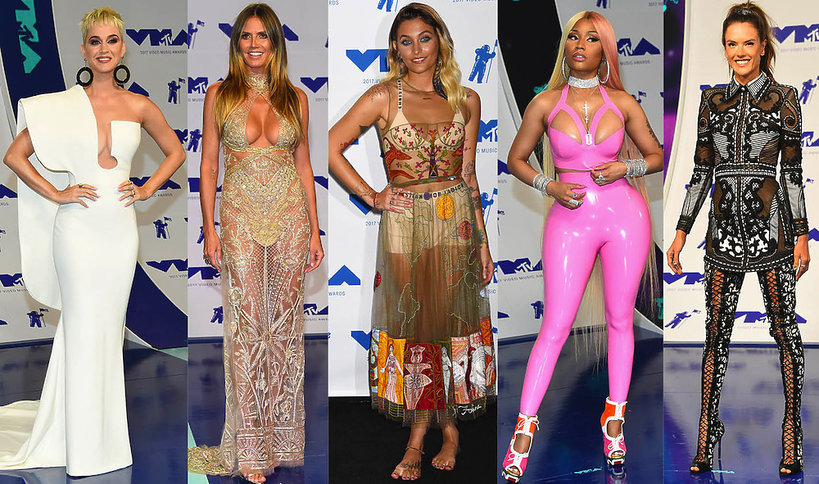 Stylizacje gwiazd na MTV VMAS 2017