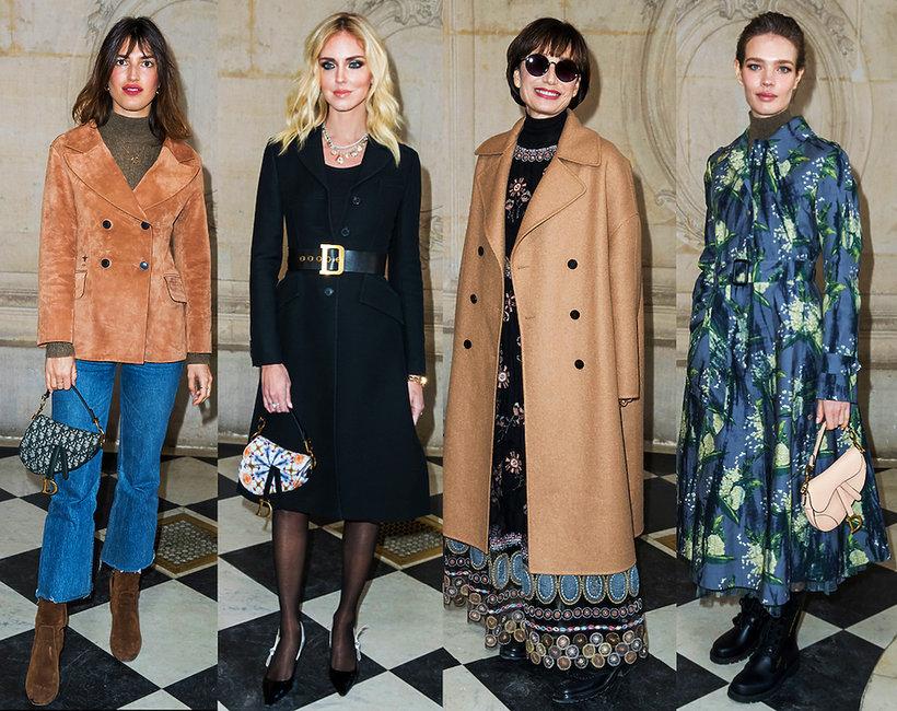 Stylizacje gwiazd na pokazach haute couture wiosna 2019