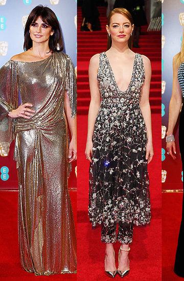 Stylizacje gwiazd na rozdaniu nagród BAFTA 2017 rok- MAIN TOPIC